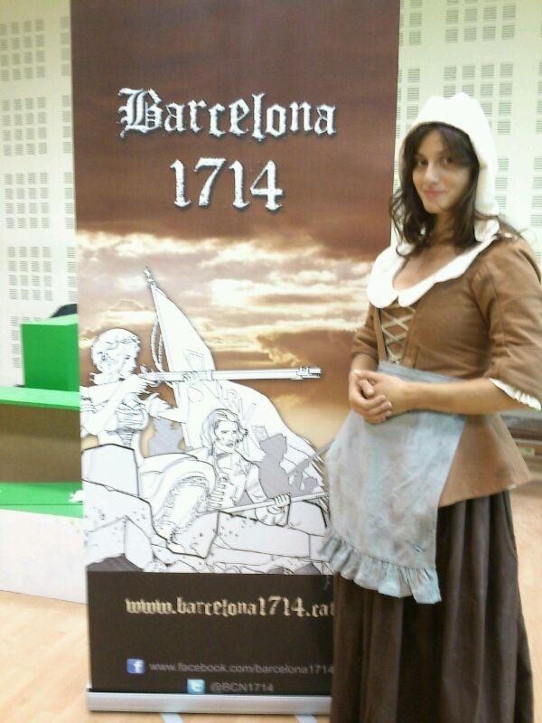 La tarragonina Cristina Pacareu s'incorpora al repartiment de la pel.lícula Barcelona 1714